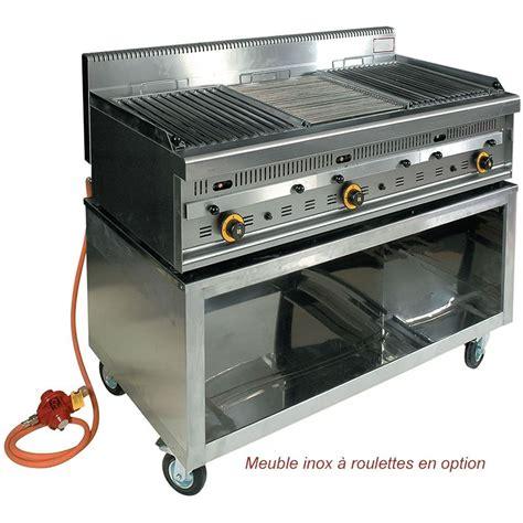 Barbecue Professionnel Gaz Et Pierres De Lave G1270