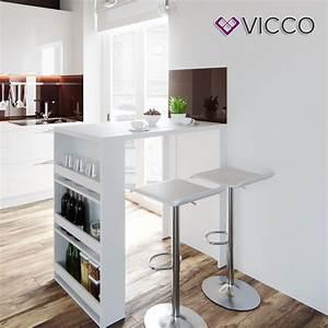 Barhocker Weiß Holz : vicco bartisch wei bartresen stehtisch tisch real ~ Orissabook.com Haus und Dekorationen