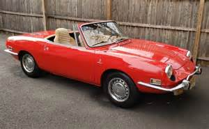 No Reserve  1972 Fiat 850 Sport Spider For Sale On Bat