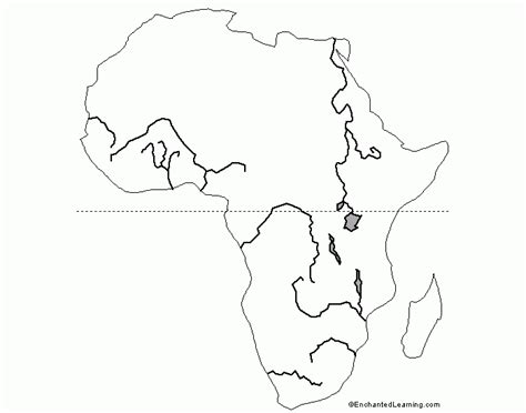 Africa Physical Map Quiz
