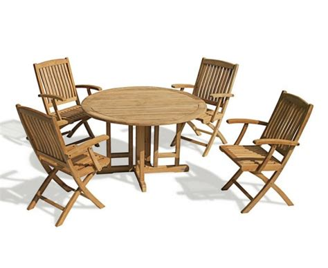 berrington gateleg teak dining set folding
