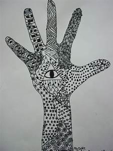 Art, Kids, Of, Benavidez, Elementary, Line, Design, With, Zentangles