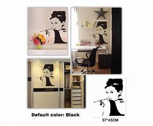 audrey hepburn home decor marceladickcom With kitchen cabinets lowes with audrey hepburn quotes wall art