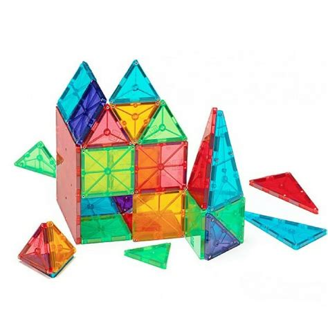 magnetic building tiles magna tiles magnetic tiles building block toys 48 and