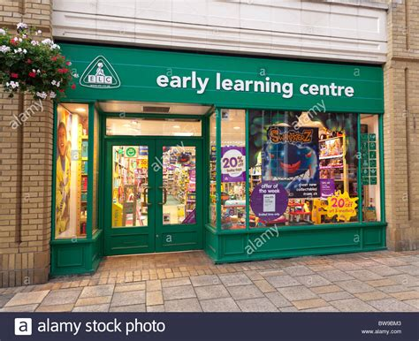 Early Learning Centre Toy Shop In Uk Stock Photo, Royalty