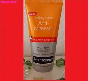 Neutrogena Visibly Clear Waschgel : neutrogena visibly clear anti mitesser sos reinigungs kur bei der beauty ~ Avissmed.com Haus und Dekorationen