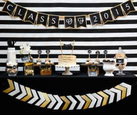 kara s party ideas black gold glamorous graduation party