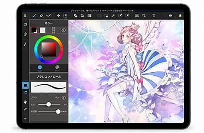 Ipad Medibang Paint Medibangpaint Android Themes ディバ