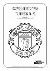 Coloring Soccer Pages Logos Cool Manchester United Football Club Clubs Celtics Fc Basketball Colouring Badges Printable Sheets Team Teams Mycoloring sketch template