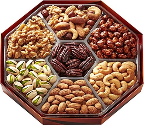 holiday gourmet food nuts gift basket 7 different nuts five star gift baskets magnificent gift baskets gourmet food nuts gift basket 7 different delicious nuts