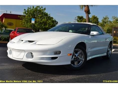 free download parts manuals 2001 pontiac firebird electronic throttle control sell used 1999 pontiac trans am convertible white white 5 7l v8 automatic in stuart florida
