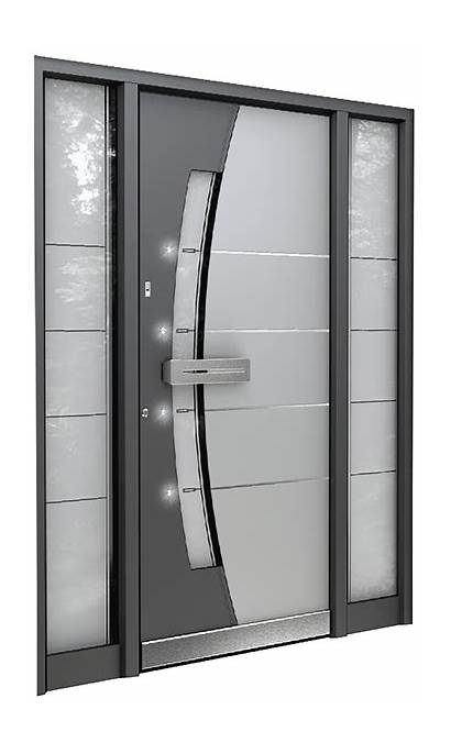 Modern Entry Doors Door Entrance Residential Aluminium