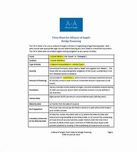 8 convertible promissory note free sample example With convertible note term sheet template
