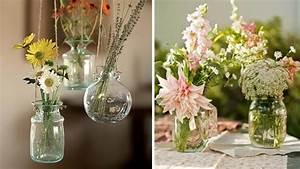 Gros Vase En Verre : bocaux et pots de confiture customiser ~ Teatrodelosmanantiales.com Idées de Décoration