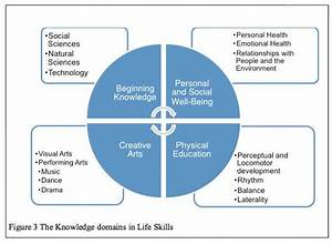 The Four Focus Areas Of Caps Life Skills Curriculum