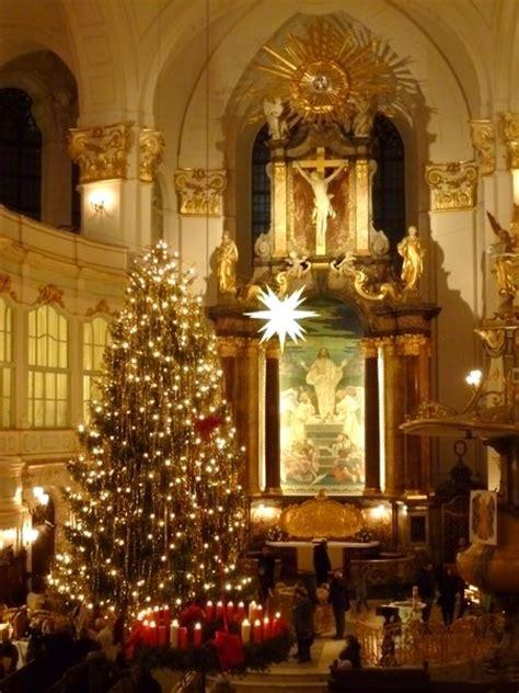 weihnachten  der st michaelis kirche hamburg