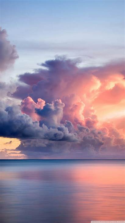 Clouds Sunset Wallpapers Guam Desktop Background 4k