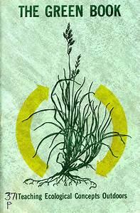 Environmental Education The Green Book 1974  Early Manual