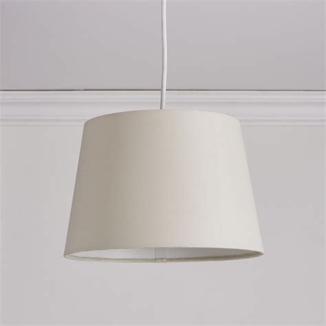 wilko tapered shade grey