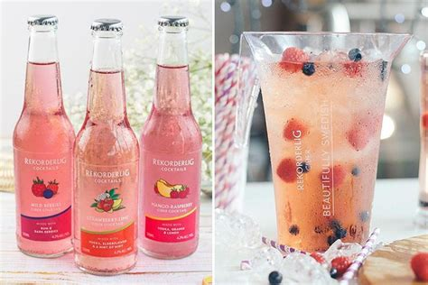 rekorderlig  launching   cider cocktail range