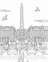 Concorde Place Steden Kleurplaten Kleurplaat Coloring Kleurplatenenzo Zo Cities Fun Afkomstig sketch template