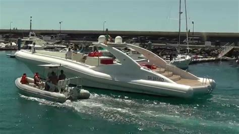 Biggest Charter Boat In The World by The Worlds Largest Rib Puerto Colon Tenerife Youtube