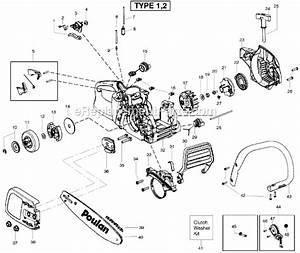 Poulan 3816 Chainsaw Parts Diagram  U2022 Downloaddescargar Com