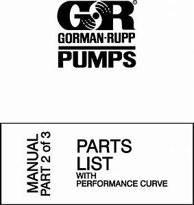 Gorman Rupp Pump Parts Diagram