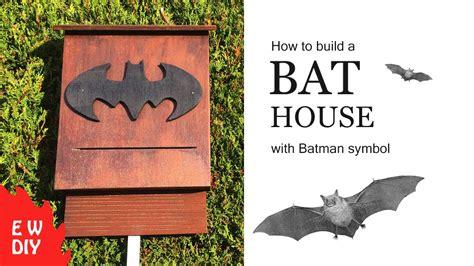 build  bat house youtube