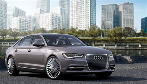 Plug-in Hybrid Audi A6 E-tron Bound For China