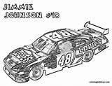 Nascar Coloring Cars Adult Race Printable Sheets Colouring Jimmie Johnson Inspirerende Kleurplaat Rally Trucks Pdf Fast Drawing Mandala sketch template