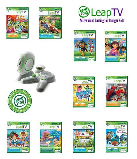 leapfrog console leapfrog leaptv educational software 3 to 8 years