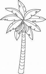 Tree Banana Coloring Outline Pages Clipart Line Fruit Drawing Clip Bananas Colouring Bestcoloringpagesforkids Sheet Fruits Leaf Minion sketch template
