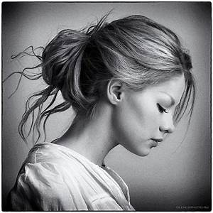 Gallery: Side View Of A Girl, - DRAWING ART GALLERY