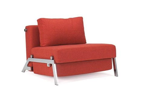 fauteuil lit design sofabed cubed rouge innovation