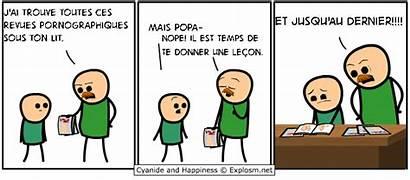 Happiness Cyanide Comics Melvin Punizione Humor Porno