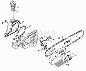 Stihl Ht 131 Pole Saw Parts Diagram