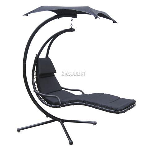 foxhunter garden swing hammock helicopter hanging chair