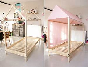 Ikea Lit 90x190 : lit cabane ik a tutoriel gratuit diy tutolibre ~ Teatrodelosmanantiales.com Idées de Décoration