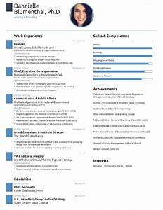 One page resume created with free novoresume template for Free 1 page resume template
