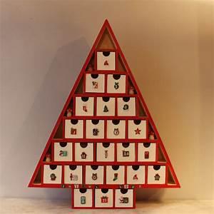 Calendrier De L Avent Maison : calendrier de l 39 avent maison en bois ~ Preciouscoupons.com Idées de Décoration