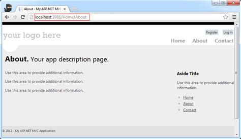 Asp Mvc 4 Resume by Asp Net Mvc 4 Part 1 Introduction Codeproject