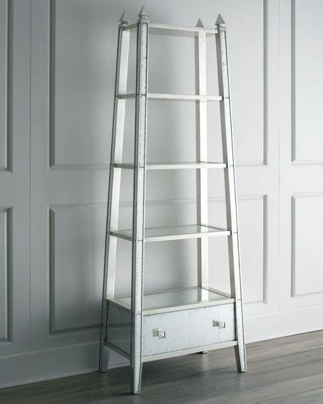 Mirrored Etagere by Richard Collection Mirrored Etagere