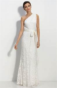 bridal dresses uk add your charm with one shoulder With one shoulder wedding dress