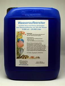 Wasseraufbereiter Für Leitungswasser : 5 liter kanister wasseraufbereiter f r liter aquarium wasser wf ~ Frokenaadalensverden.com Haus und Dekorationen