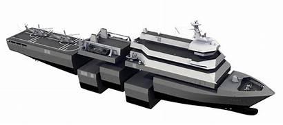 Enforcer Damen Landing Dock Platform Ship Lpd