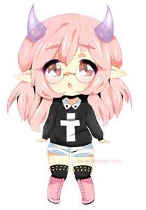 Cute Anime Demon Girl Minecraft Skins