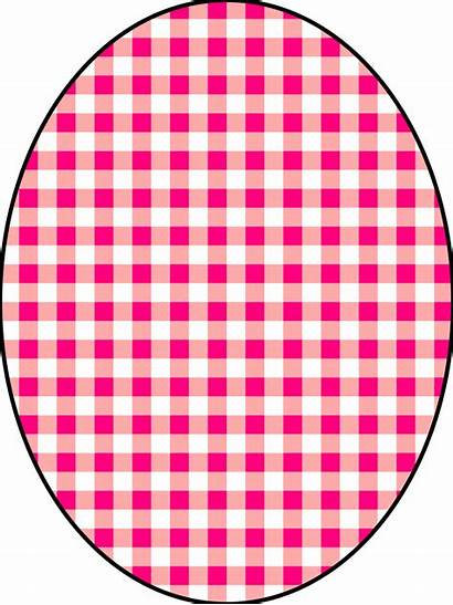 Checkered Pink Pattern Clip Vichy Clipart Checkerboard