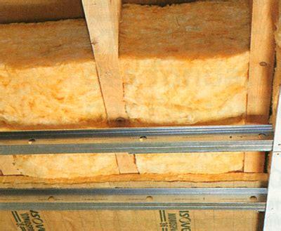 isolation d un plancher en bois par le plafond maisonbrico