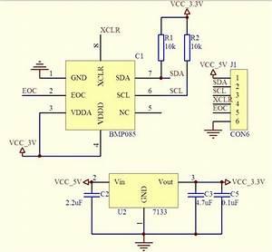 Bmp085 Barometric Digital Pressure Sensor Module